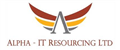 Logo for Alpha IT Resourcing