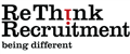 Logo for ReThink Recruitment