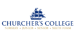 Logo for CHURCHER'S COLLEGE
