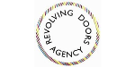Logo for REVOLVING DOORS AGENCY
