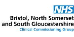 Logo for NHS Bristol North Somerset South Gloucestershire CCG