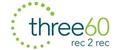 Logo for three60 recruitment
