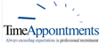 logo for TIME Appointments Ltd