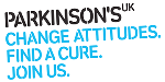 Logo for PARKINSONS UK