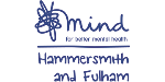 Logo for HAMMERSMITH & FULHAM MIND