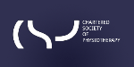 Logo for THE CHARTERED SOCIETY OF PHYSIOTHERAPY