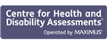 Logo for Centre for Health and Disability Assessments