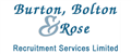 Logo for Burton Bolton & Rose Recruitment Services Limited