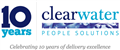 Logo for Clearwater People Solutions Ltd