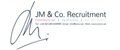Logo for JM&Co. Recruitment Ltd