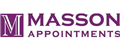 Logo for Masson Appointments Ltd