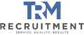 Logo for TRM Recruitment Ltd